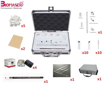 Biomaser eyebrow tattoo kit,Micro-Blading Semi Permanent Makeup pigment kit