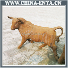 Decorative bull statue