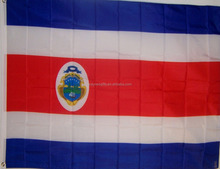 Stock Costa Rica 90*150cm polyester world cup flag