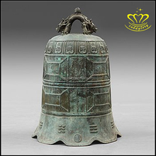Antique Chinese Bronze Sculpture metal Bell