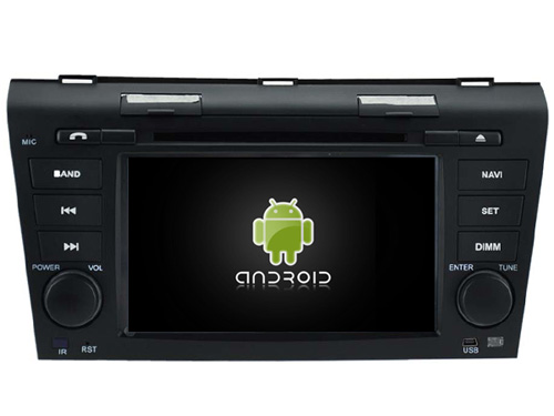 Android 7.1.1 2GB ram <strong>car</strong> dvd player for <strong>MAZDA</strong> <strong>3</strong> 2004-2009 radio audio gps head unit tape recorder 3G