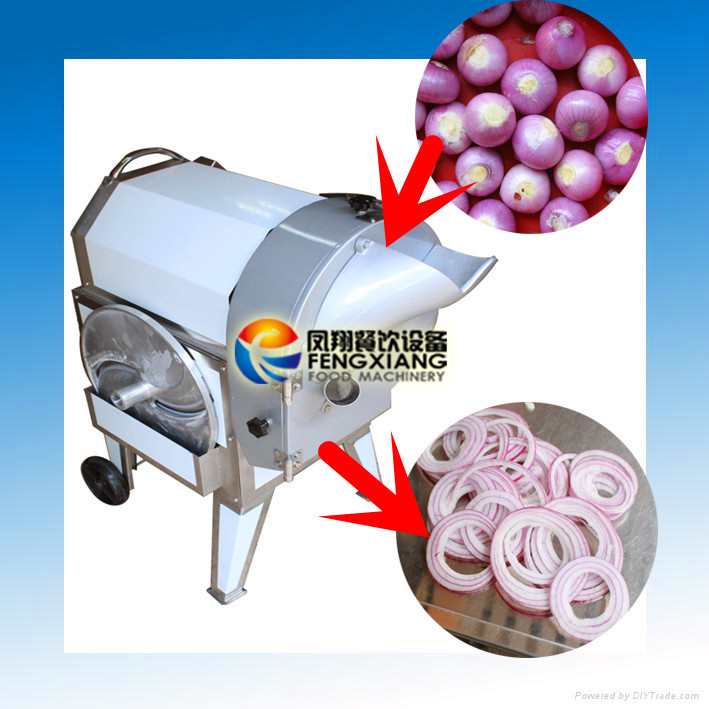 FC-312 Electric Onion Chopper, Onion Ring Slicing Machine, Onion Dicing Machine (#304 SUS)...Nice!!!