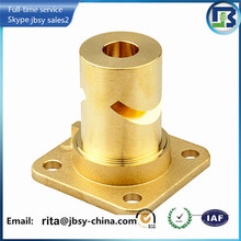 Custom Made Brass CNC Parts CNC Turning Services Precision Parts Processing