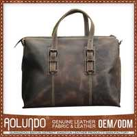 Highest Quality Latest Designs Customized Genuine Leather Handbag Made In Mexico