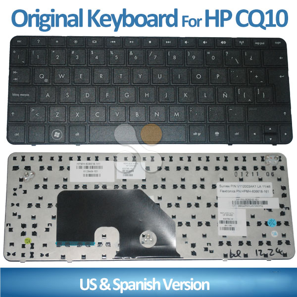 Brand New For HP CQ10 MINI 110-3000 Laptop Keyboard US/CAD FR Layout w/ POUND KEY