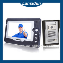 Cheapest 7 inch wired intercom video door opener with camera