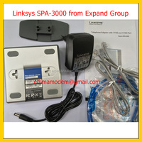 Linksys SPA-3000 FXS, FXO VoIP Gateway SIP Analog Adapter Linksys SPA 3000 ATA VOIP SPA3102 FXS FXO Sipura 3000 NEW Linksys SPA