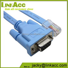 linkjc RJ45 Male to D-Sub RS232 DB9 Female Plug Cable Adapter