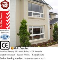 aluminum window aluminium sliding glass window aluminium balcony/office window with mosquitoes net