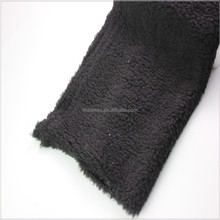 brushed Feature and Home Textile,Garment,Shoes Use sherpa fabric