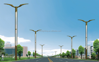 high power 100w outdoor led solar street light Commercial new product IP65 LED street light poles
