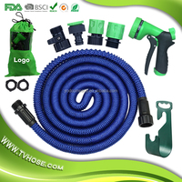 Amazon Best Supplier No Kink Tangle For USA Market Magic Expanding Flexible Stretch Hose Magic Garden Hose