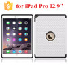 For iPad Pro 12.9 Case, PC+Silicone Hybrid Bling Diamond Back Cover Case for Apple iPad Pro 12.9 inch