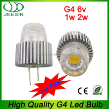 low voltage g4 cob 6v led lighting bulb 2700K
