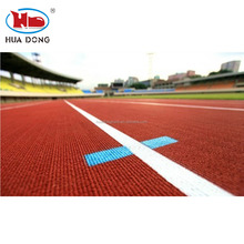 IAAF Approved Prefabricated Rubber Athletic Running Track Paving Material