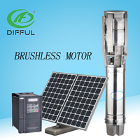 Motor Solar Water Pump Dc Pump High Pressure For Irrigation