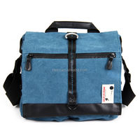 New design fashion and leisure waterproof canvas travel big size bag for camera, Laptop, Ipad with YKK zipper