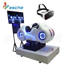 Game center 9d virtual reality arcade simulation vr motorcycle moto racing vr 9d game