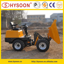 Self-loading mini truck dumper loader 1000kg
