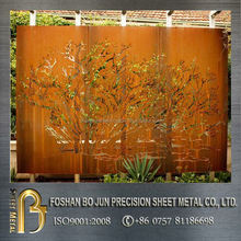 China supplier made in china outdoor laser cutting metal screen