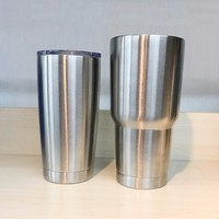 New products custom printed double wall travel mug and cup 30oz stainless steel coffee tumbler