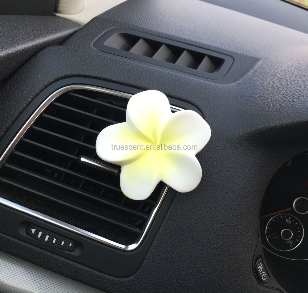 Flower Shaped Ceramic Car Aroma Diffuser