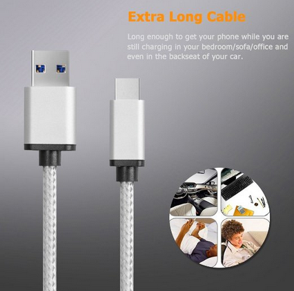 alibaba china mobile phone accessories type C data USB2.0 to 4.0 cable charge