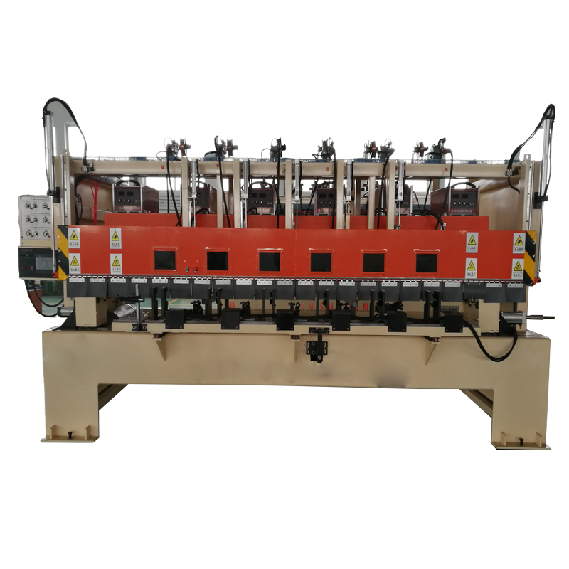 High precision cuplock scaffolding welding machine
