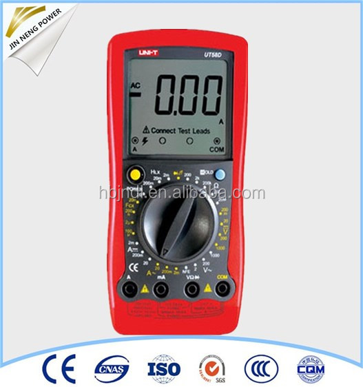 UT54 digital multimeter with frequency