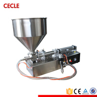FF9-500 cake filling machine, semi automatic paste filling machine for cake