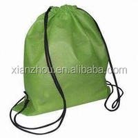Cheap Fashion Mesh Football Drawstring Sport Pack fabric Bag