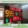 outdoorprogrammable removable soccer scoreboard led score board RF remote control