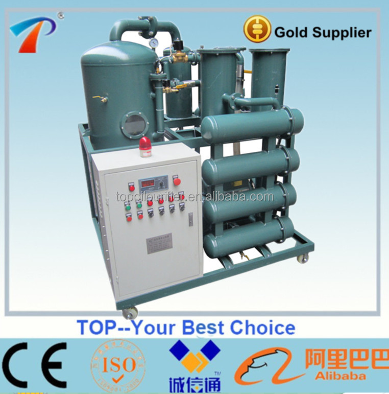 Model ZYD Vacuum Double-Stage Insulating Oil Regenerating Vacuum Oil Purification/used oil purification/transformer oil recycle