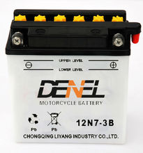 12V 7AH Motorcycle Dry Charged Battery,12N7-3B battery for Motor