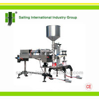 GWJ01-01 Piston Semi Automatic Liquid Paint Filling Machine,pneumatic filling machine