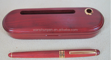 eco pen, wood pen with wood case, promotional gift ball pen