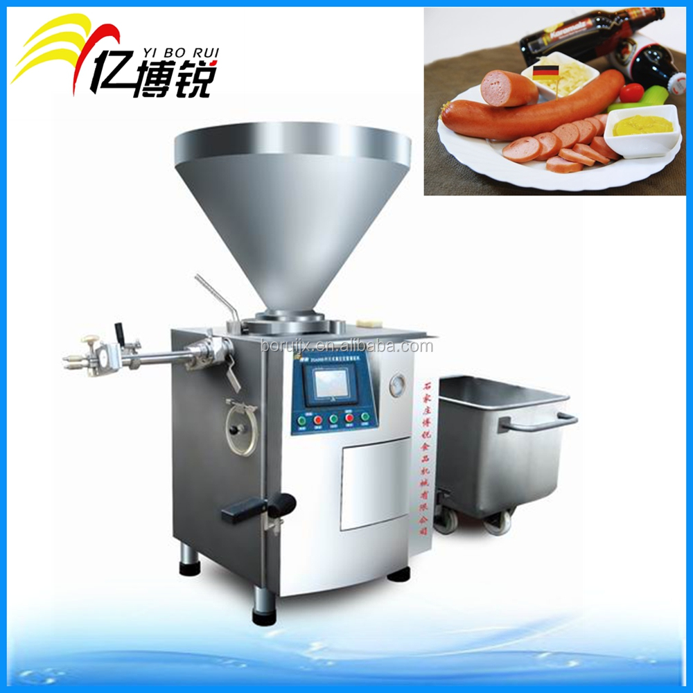 Automatic Vacuum Stuffer For Sausage Stainless Steel Vacuum Sausage Filler Stuffer
