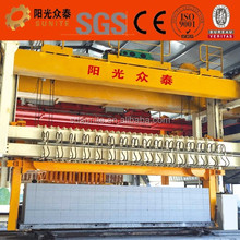 2017Chinese sand aac block making machine production line /aac block wheel loader/3 tons fork lift truck