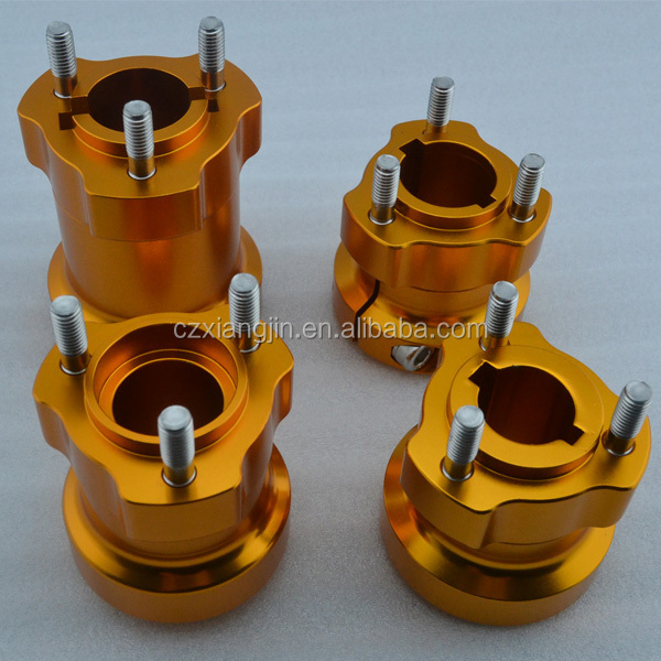 custom aluminum cnc machining go kart wheel hub