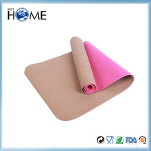 Custom Eco Friendly Yoga Mat Cork Yoga Mat Towel Gymnasium Mats