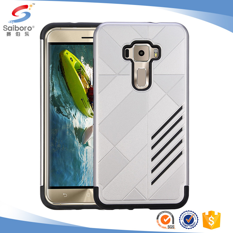 hybrid PC TPU cover case for asus 3 5.5 phone cases