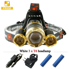 rechargeable led headlamp outdoor use, adjustable camping strobe headlamp