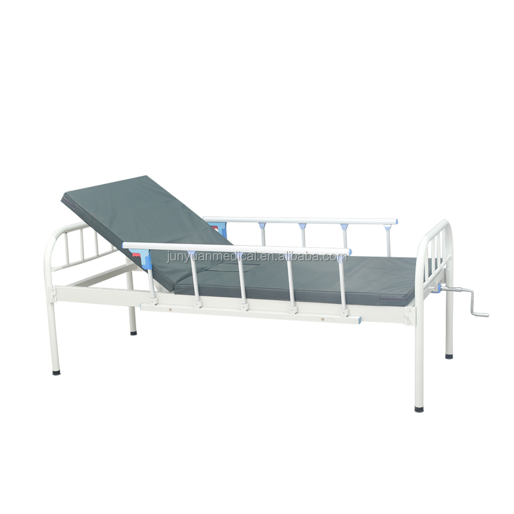 manual one function hospital bed medical manual bed metal hospital bed