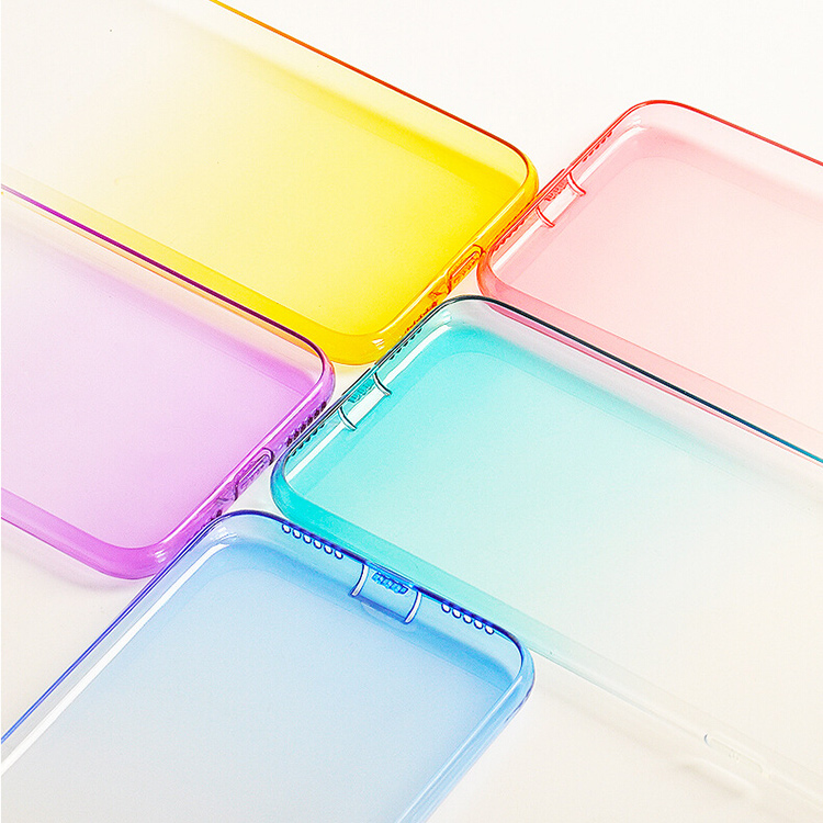 DFIFAN Mobile phone case for iphone 7 plus 8 plus ,translucent ultra thin tpu cover for apple iphone 7 8 cases