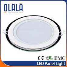 Good quality glass positive light led wall panel lighting
