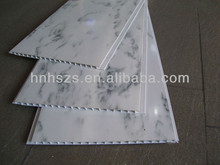 Bathroom PVC Ceiling Cladding Marble-look Wall Paneling