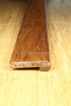 stair nosing- strand woven/heavy bamboo flooring-accessories
