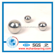 "High precision G100 AISI304 1-1/8"" 28.575mm stainless steel bearing ball"