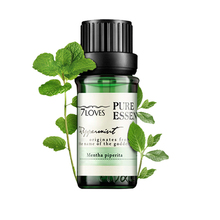 Natural Peppermint Essential Oils 100% Pure & Therapeutic Grade