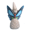 Hotsale polyresin garden welcome animals butterfly statue